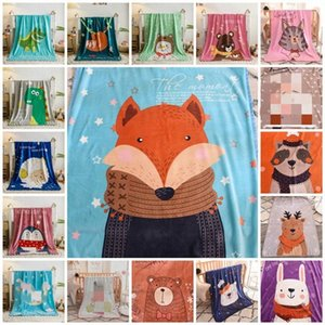 hot Baby blanket cartoon children's fluffy throw Blanket soft skin friendly baby cartoon Blankets 100 * 140cm Home Textiles T2I51156 k2ji#