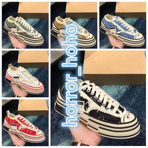 VESSEL 2020 Luxury XVessel G.O.P. Lows Canvas Shoes Mens Women TOP Quality Fashion Designer Vessel Tripe S Piece by Piece Speed Casual Shoes Z70