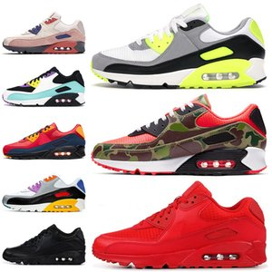 nike air max 90 air 90 off white 여성 운동화 OG volt green camo essential red bright violet be true mens trainers sneakers