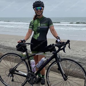 2020 Nueva Mujer mono de triatlón ciclismo Jersey manga corta Jersey Body Maillot ciclismo transpirable 9D Gel Set