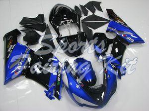 Body Kits für zx6r 636 2005-2006 Blau Schwarz Body Kits zx6r 636 05 Fairing für Kawasaki ZX6R 06
