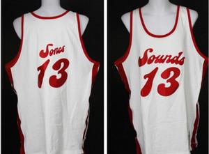 Hommes personnalisés femmes jeunes Collis Jones 1974-1975 MS Sounds College Basketball Jersey Taille S-6XL ou sur mesure tout maillot de nom ou le numéro