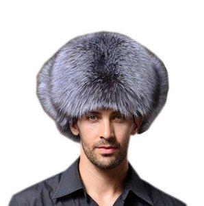 Moda Kış Trapper Şapka Cap Erkek Kadın Kepçe Hat Sıcak Caps 56-62CM İçin Şapka Beanie Casquettes Üst Kalite Suit