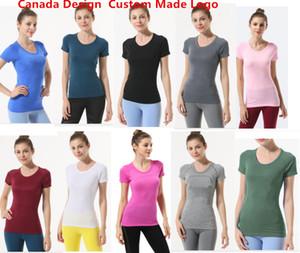 Profesional l la misma camiseta para mujer Sport Yogo Shirt U Jogging l Ocio Women Designer T Shirt U Mismos camisetas Tee Shirts Homme