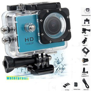 """Impermeabile mini macchina fotografica Full Hd 1080p Action Sports videocamera esterna, usata per GoPro Style Go Pro Screen Recorder 2"""" , Dv resistente"""
