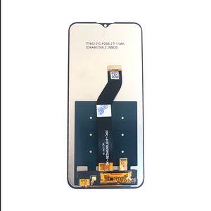 Ecran Lcd Digitizer pour Motorola Moto G8 Alimentation Lite 6.5 pouces IPS LCD tactile capacitif Assemblée Frame No Pièces de rechange Noir