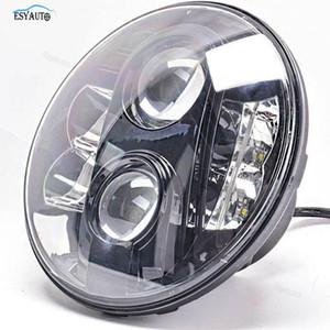 7inch 80W LED Far E9 97-15 Wrangler için H4 Arayüz 4x4 Off Road Supper Parlak lambası ile Yüksek / Düşük Beam'e Onaylı