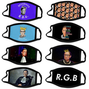 New adult child Ruth Bader Ginsburg Justices of the United States mask dustproof printed washable reusable polyester mask