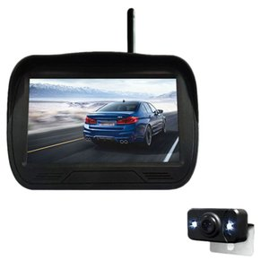 4.3 Inch Car Wireless Monitor Display LCD Sn with Waterproof Night Vision Rearview Reverse Backup Camera WX4300D
