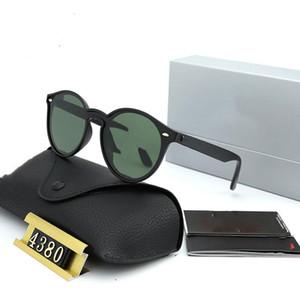 Top interdit Lunettes de soleil Vintage Pilot Marque Band Protection UV400 Hommes Femmes Hommes Femmes Ben lunettes de soleil Wayfarer avec la boîte 4380