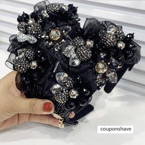 moda arco de nuevo ~ barroco exagerado Show Ball personalizada hairband ancho