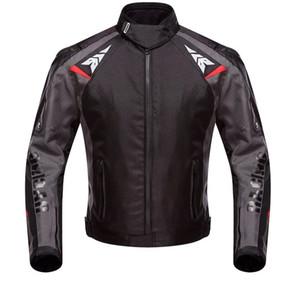 2020 Yeni DUHAN Yaz su geçirmez Motosiklet Ceket Moto binme giyim yarış takım elbise direnç Oxford damla motosiklet