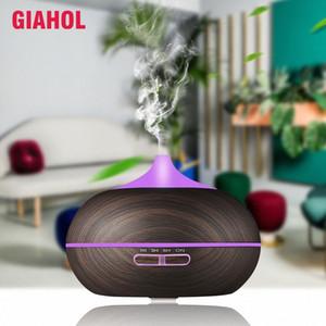 Diffusore Aroma diffusori di olio essenziale di umidificatore ad ultrasuoni per la casa nebbia fredda Maker Diffusore IvHT #