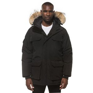 hot sale 20FW Classic High End Mid-length Down Jackets Men Women Winter Warm Outdoor Coats Windproof Bread Down Jacket High Street Outwear