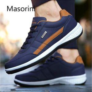 Los hombres zapatos de cuero de lujo de la tendencia de zapatos ocasionales de los deportes ocasionales respirables 2020 de alta calidad superior que vende zapatillas deportivas
