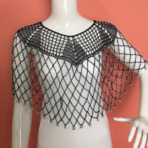 New Chaoshan Crochet Robe Fleur Accessoires Châle Cape Plage Ice soie Vêtements antisolaires Cinq coin Scarf