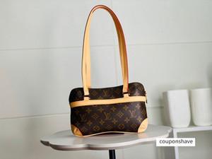 2020 best quality letter genuine Leather handbag classic men message women belt bag 26-16-5cm
