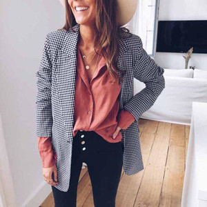 Fashion Women Ladies Casual Suit Coat Business Blazer Long Sleeve Outwear Formal Jacket Tops