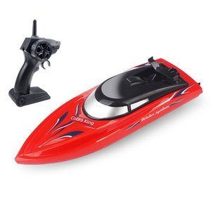 2.4G controle remoto Boat duração de 20 minutos de alta velocidade Remo Verão Água Speed Boat Bboy Modelo de Avião Toy presente adulto RH701