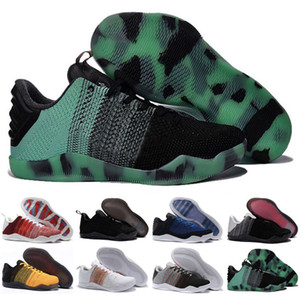 XI 11 Elite Low FTB Fade To Black Day Mamba Мужчины Баскетбол обувь BHM ахиллесова пята Последний император Easter обувь для продажи Dropshiping Принято