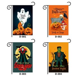 2020 Halloween garden flag Halloween horror decoration festival props 20 styles 30*45cm digital printing flag T3I51188