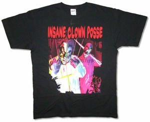 مجنون بوسي المهرج الفأل جولة 1997 جوغغالو أسود t قميص جديد ICP الرسمية (1)