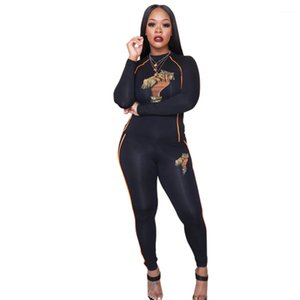 Long Sleeve Tshirt Mid Waist Pant Ladies Sport 2pcs Clothing Suit Women Dollar Two Piece Pants Pullover