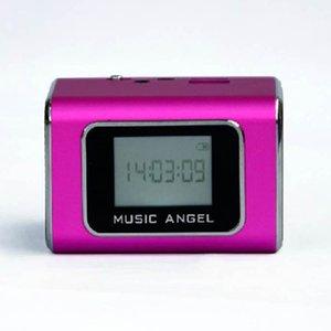 cgjxs Origianl Music Angel Jh -Md05x Портативный Usb Tf Card звучащие колонки с FM-радио Line In Mp3 ЖК-экран цифровой колонки
