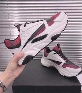 B22 Sneaker Mens Designer Vintage Chaussures Sneakers en toile et en cuir vachette Formateurs unisexe bas chausse Casual 20color taille Big 35-46