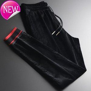 brooch, Men's soft luxury, color contrast, ribs, informal sports, men's large 4XL,
