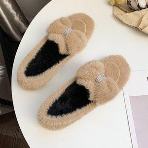 kadın Sevimli yay versiyonu artı velvetwomen ayakkabıları rahat düz U16-08 2020 sonbahar ve kış YENİ Bezelye ayakkabı