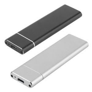 USB 3.1 para Adaptador caixa de disco rígido M.2 NGFF SSD móvel Caso Cartão do cerco externo para m2 SATA SSD USB 3.1 2230/2242/2260/2280