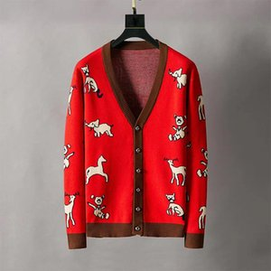 Pull concepteur mens HAWALL Sweatshirts manches longues Sweats lettre de broderie de vêtements de luxe Automne Hiver cerf Chandails