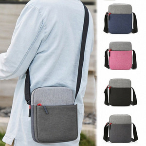Men Waterproof Shoulder Bag Pockets Anti Theft Large Capacity Outdoor Messenger Bag J9 LFVL#