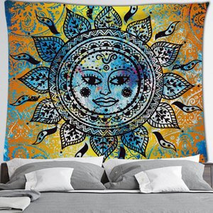 Mandala Tapestry Hippie parede Início decorativa Hanging Bohemia Praia Mat Yoga Mat pano Colcha Mesa # 47