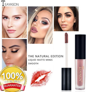 Lip Gloss 12 Colors Matte Lip Set Waterproof Long Lasting Make Up Red Pencil Kits Nude Makeup Liquid Lip Stick bea179