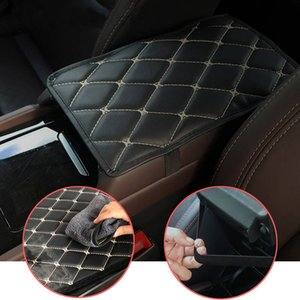 Car Armrest Mat Universal Interior Auto Armrests Storage Box Mats Dust-proof Cushion Cover Automobiles Protector Waterproof Pad