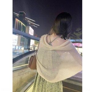 xz8j2 Der Schal ist dünn weich und kann Sunscreen den Riemen kurz mit all Strapsen Sommer Strickjacke Sonnenschutz Kleidung Frauen Rock getragen werden