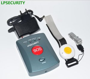 LPSECURITY 1 2 3 4 düğme vericileri Yaşlı oap Panik Alarm sistemini GSM - Otomatik Ev Güvenlik Uyarısı Bakım Çağrı Güz Alarmı Dial