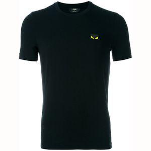 Summer Top Skulls Hommes strass T-shirts en coton Modal O manches courtes Slim T-shirt fends
