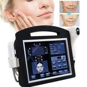 2020 4D HIFU professionnelle + Vmax Hifu 12 lignes à haute intensité ultrasons focalisés Hifu machine Suppression des rides pour le visage et du corps Minceur