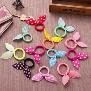 Corea del estilo de conejo de pelo anillo de accesorios para el cabello anillo de mariposa mariposa Tu Er infantiles para los oídos 2 yuanes tienda de jewelrygift