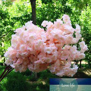 8 Colors Artificial Dense Cherry Flowers Decorative Flowers for Wedding DIY Peach Blossom Cherry Plum Branch Decorative Fake Flowers