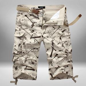 Kırpılmış Pantolon İçin Erkekler Gevşek Önlüğü Genel Yaz Plaj Şort At Pantolon Spor 7 Puan Günlük Korece-Stil Erkek Şort-40
