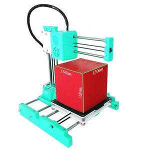 FDM ile Heatbed Impresora imprimante X3 Drukarka imprimante Cheap 3dprinter Easythreed 150x150 Mini 3D Printer 3D