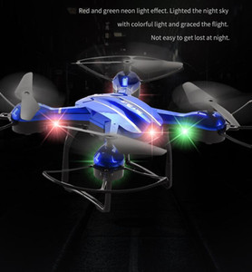 mini drone HD aerial camera FPV Wifi foldable aircraft colorful LED light altitude remote control headless mode kids toys gift 04
