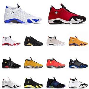 14 nuevos zapatos de baloncesto para hombre 14s Hyper Real Doernbecher negro color multi gimnasio turbo rojo Indiglo aire libre para hombre zapatillas de deporte los EEUU 7-13