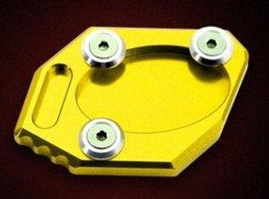 Banc de moto Side Plate support approprié pour la 300NINJA250Z250ER 6NER 6F jaune Jig6 #