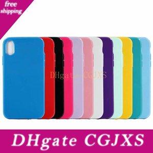 Glatte Süßigkeit-Normal weicher TPU Fall für Iphone Xr 6 .1 Xs Max 6 .5inch X Xs Bunte Abdeckung Kristallsilikon-Mode-Mobiltelefon-Gummihaut