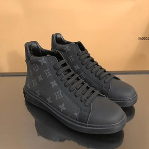 louis vuitton LV Moda Scarpe Uomo traspirante, con origine Box Zapatos hombre scarpe da ginnastica nere Tessuto Tech vendita calda superiore di lusso veloce di trasporto Kz